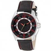 Fastrack Analog Black Dial Mens Watch - 3089Sl12