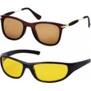 Freny Exim Aviator, Sports Sunglasses(Green, Brown)