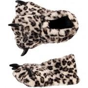 Geen Zachte dieren pantoffels luipaard poot