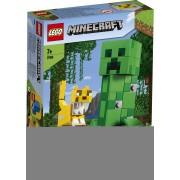 Lego Minecraft (21156). Maxi-figure Creeper e Gattopardo