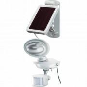 Napelemes LED fénysugárzó SOL 14 plus, IP44 infravörös mozgásérzékelovel 2xLED 0,5W 85lm Kabel-hossz 3m Szinek Szürke-fehér