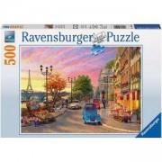 Пъзел Ravensburger 500 елемента, Винтидж Париж, 701101