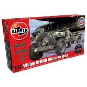 KIT AUTOMODELE AIRFIX 02339 MASINA WILLYS BRITISH AIRBORNE JEEP SCARA 1:72
