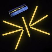 4 Lumistick Glow Stick Light Sticks Orange (Tube of 25)