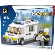 Joc constructie Blocki, Masina-inchisoare politie, 135 piese