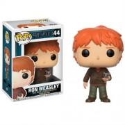 Pop! Vinyl Figura Pop! Vinyl Ron Weasley con Scabbers - Harry Potter