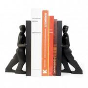 Könyvtámasz, tartó ember