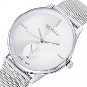 Dames Modieus horloge Kwarts Vrijetijdshorloge Legering Band minimalistische Zilver