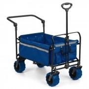 Easy Rider Carretto max. 70kg Asta Telescopica Pieghevole blu