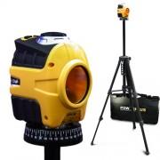 Nivela laser cu auto-nivelare cu baza de rotatie 360° si trepied POWERPLUS-POWX720