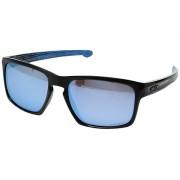 Oakley Sliver Polished Black w Prizm Deep Water Polarized