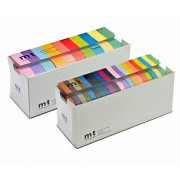 MT Washi Masking Tapes, Bright Colors (MT10P003) and Bright & Cool Colors (MT20P002) Set