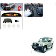 Auto Addict Car White Reverse Parking Sensor With LED Display For Mahindra Old Scorpio