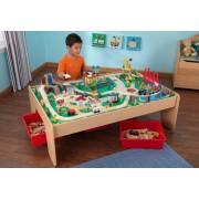 Vízesés hegyi vonatszett asztallal / terepasztal Kidkraft