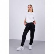 WOMEN BRIGID CIGARETTE TRACK PANTS 002 BLACK