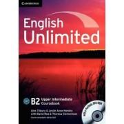 Cambridge English Unlimited Upper Intermediate Coursebook with E-Portfolio - Alex Tilbury