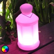 Decorative LED light Toby w. remote control