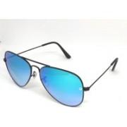 Hamiltano Winston Aviator Sunglasses(Blue, Black)