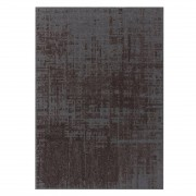 Gan Rugs Abstract Charcoal Canevas Vloerkleed L