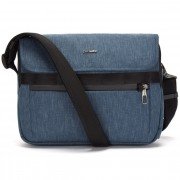 Pacsafe Metrosafe X Messenger tas RFID 32 cm laptopvak dark denim