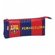Portatodo triple Futbol Club Barcelona - Safta
