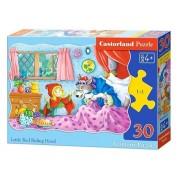 Puzzle Scufita Rosie - 30 piese