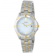 Citizen Women's EW1934-59A Diamonds Analog Display Japanese Quartz Two Tone Watch