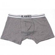 Alan Red Underwear Boxershort Lasting Grey / Black Two Pack - Antraciet - Size: Small