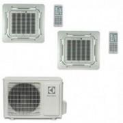 Electrolux CLIMATIZZATORE CONDIZIONATORE A CASSETTA A 4 VIE DUAL 18+18 ELECTROLUX U.E. EXO36HEIWE DA 18000+18000 BTU