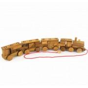 Houten Speelgoed Trein - Puzzel (55 cm)