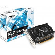 MSI RADEON R7 360 OC 2048MB GDDR5 125Bit Graphics Card