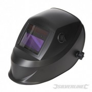 Welding Helmet Auto Darkening Variable & Grinding - DIN 4/9-13EW & Grinding 757060 5024763136412 Silverline