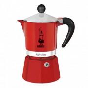 "Espressokocher Bialetti ""Moka Rainbow 3-cup Red"""