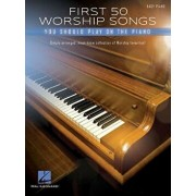 First 50 Worship Songs You Should Play on Piano, Paperback/Hal Leonard Corp