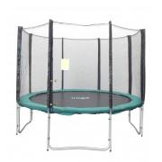 Capetan® Olive 305cm átm. 4 w lábbal 8 hálótartó oszloppal rendelkező kültéri Luxus trambulin szett