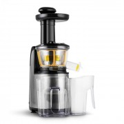 Klarstein Fruitpresso Nero II, gyümölcsprés, lassú prés, 150 W, 80 ford./perc, rozsdamentes acél (OJ3-Nero-II)