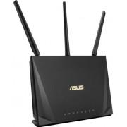 Router Wireless Gaming ASUS RT-AC85P, Gigabit, Dual Band, 2400 Mbps, 3 Antene externe, 1 Antene Interna (Negru)