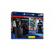 Конзола Sony Playstation 4 PRO 1TB Black + Uncharted 1,2,3,4, The Lost Legacy PS4 + The Last of Us PS4