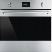 Smeg Classic SFP6378X Single Built In Electric Oven - Stainless Steel