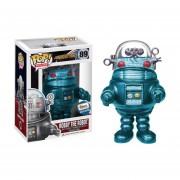 Funko Pop Robby The Robot Metálico Turquesa Perdidos En El Espacio Edición Especial
