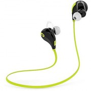 LifeWinn Stylish Wireless Bluetooth Sport Earphones with Mic for iPhone / Android phones. New black/green. Buy now and get a FREE GIFT EBOOK 100 TIPS FOR EVERDAY RUNNING in the value 20 USD FREE