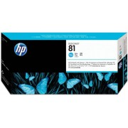 HP Têtes d'impression origine HP 81 / C4951A Cyan /