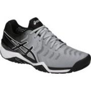 Asics GEL - RESOLUTION 7 Tennis Shoes For Men(Grey)
