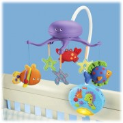 Fisher- Price - Carusel Fisher-Price Ocean Wonders Deep Blue Sea Deluxe