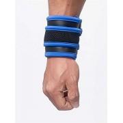 Mister B Neoprene Wrist Wallet Armband Black/Blue 341010