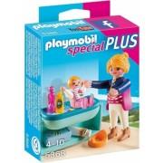Mama si Copilul cu Masa de Schimbat Special Plus Playmobil