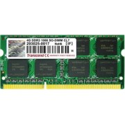 Memorie Laptop Transcend SODIMM Apple Series 4GB DDR3 1066MHz CL7