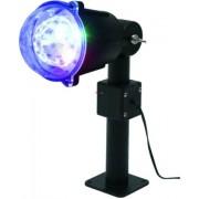 Party fényeffekt, LED projektor 230V