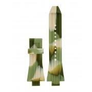 メンズ MICHAEL KORS Dylan two-piece strap 時計用アクセサリー ミリタリーグリーン