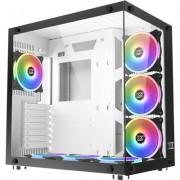 Chassis Aquarius Plus EN43354, ATX, M-ATX, Mini ITX, USB3.0x2 +USB2.0x1, Front & Left Tempered Glass, 7PCS CY120 RGB Fan, Fr